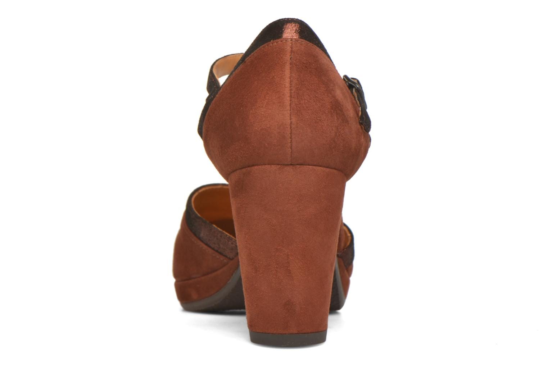 Zapatos de tacón Chie Mihara Migas Multicolor vista lateral derecha