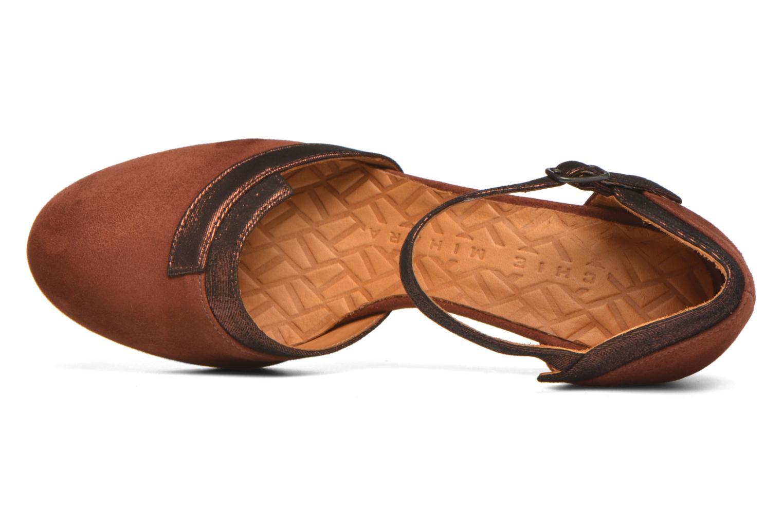 Zapatos de tacón Chie Mihara Migas Multicolor vista lateral izquierda