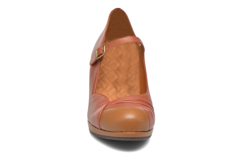 Escarpins Chie Mihara Misto-C Rouge vue portées chaussures