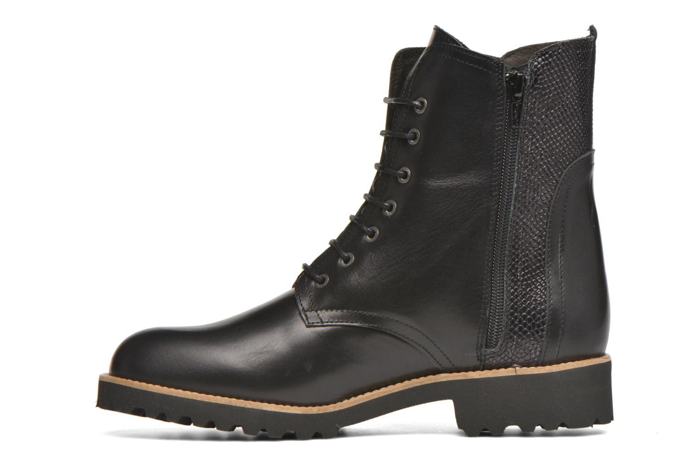 Bottines et boots HE Spring Marine Noir vue face