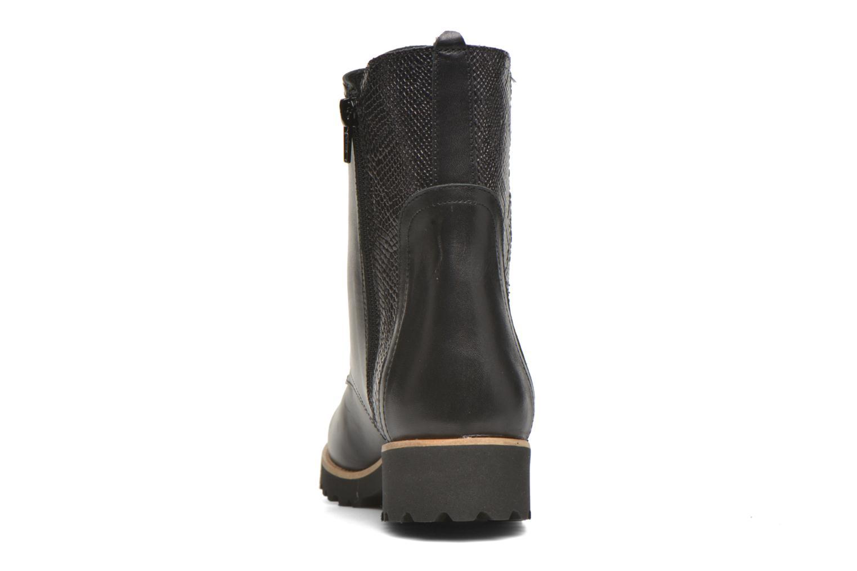 Bottines et boots HE Spring Marine Noir vue droite