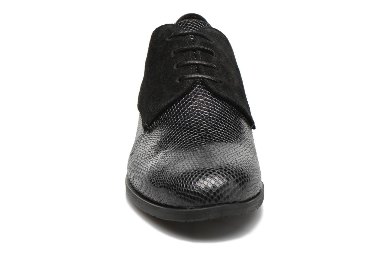 Chaussures à lacets HE Spring Morgan Noir vue portées chaussures