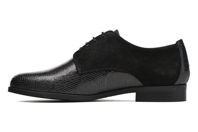 Zapatos con cordones HE Spring Morgan Negro vista de frente