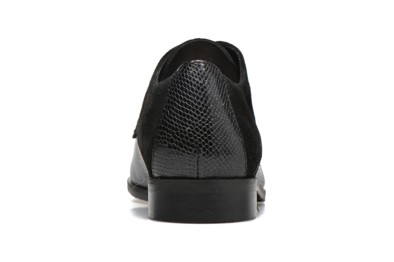 Zapatos con cordones HE Spring Morgan Negro vista lateral derecha