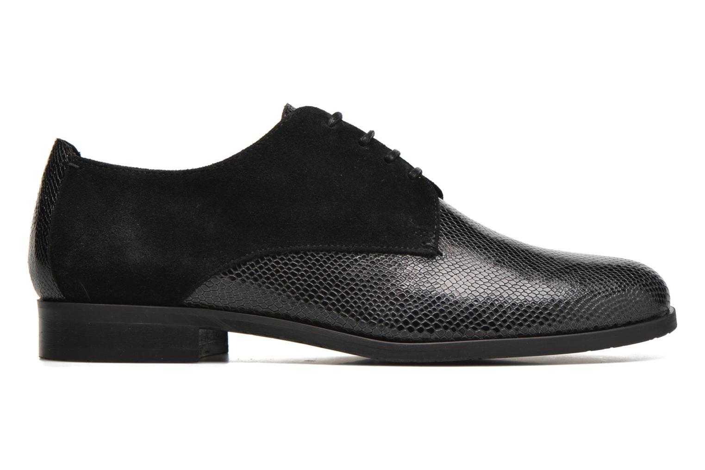 Zapatos con cordones HE Spring Morgan Negro vistra trasera