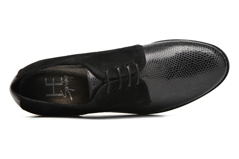 Zapatos con cordones HE Spring Morgan Negro vista lateral izquierda