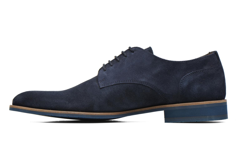 Zapatos con cordones HE Spring Max Azul vista de frente