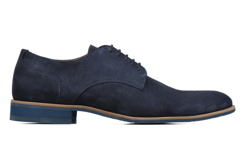 Zapatos con cordones HE Spring Max Azul vistra trasera