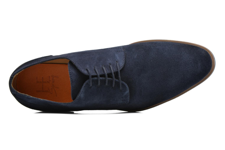 Zapatos con cordones HE Spring Max Azul vista lateral izquierda