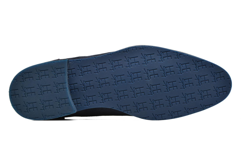 Zapatos con cordones HE Spring Max Azul vista de arriba