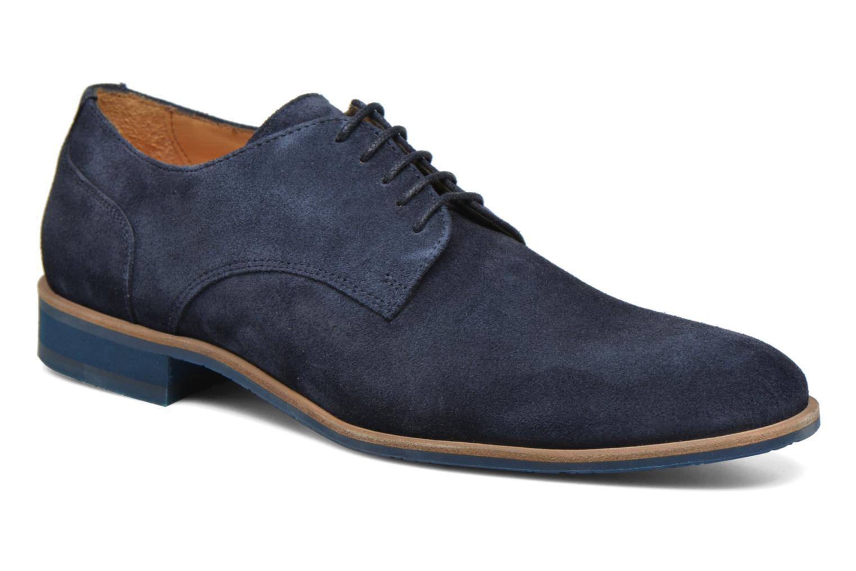 Zapatos con cordones HE Spring Max Azul vista de detalle / par