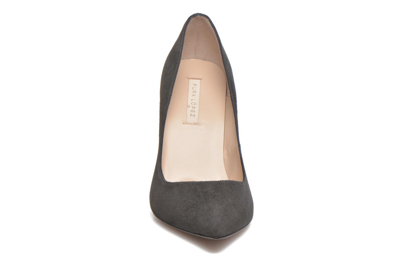 Escarpins Pura Lopez Sarah Gris vue portées chaussures