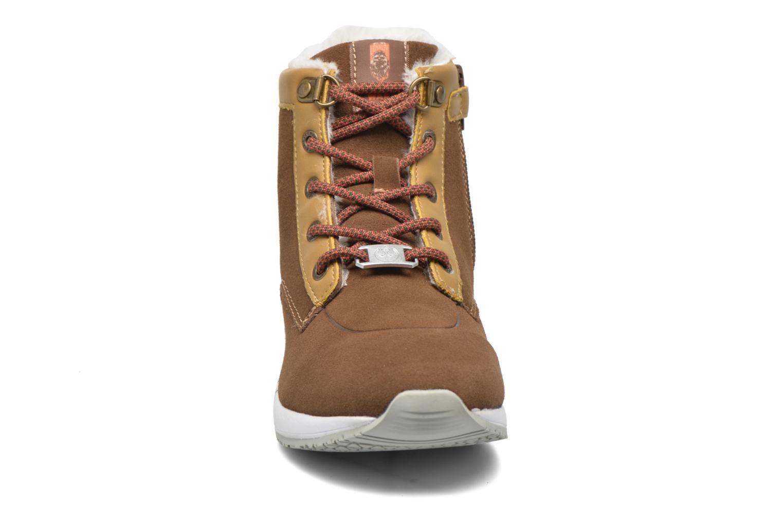 Bottines et boots Kickers Legendchewie K Marron vue portées chaussures
