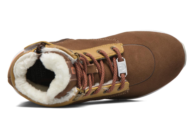 Stiefeletten & Boots Kickers Legendchewie K braun ansicht von links