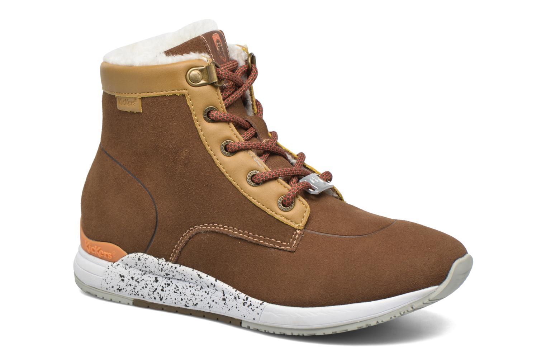 Bottines et boots Kickers Legendchewie K Marron vue détail/paire