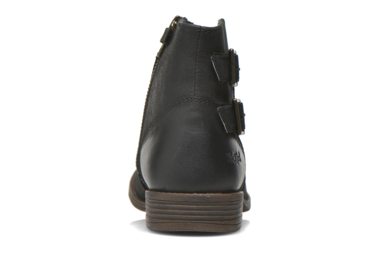 Bottines et boots Kickers Robot Noir vue droite