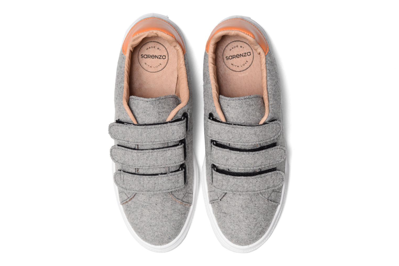 Sneaker Made by SARENZA Partygloo #1 grau schuhe getragen