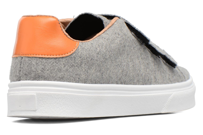 Sneaker Made by SARENZA Partygloo #1 grau ansicht von vorne