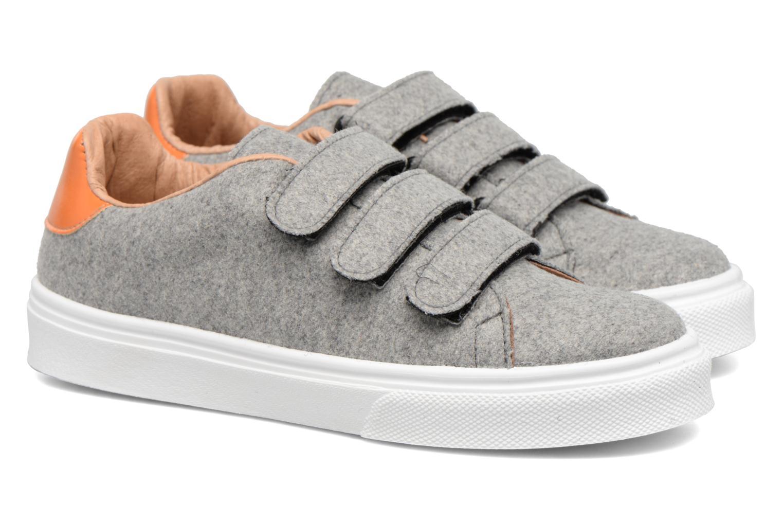 Sneaker Made by SARENZA Partygloo #1 grau ansicht von hinten