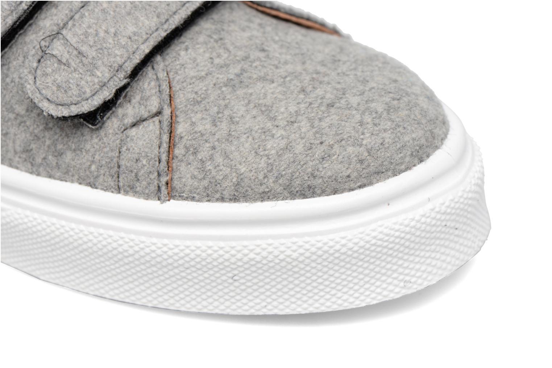 Sneaker Made by SARENZA Partygloo #1 grau ansicht von links