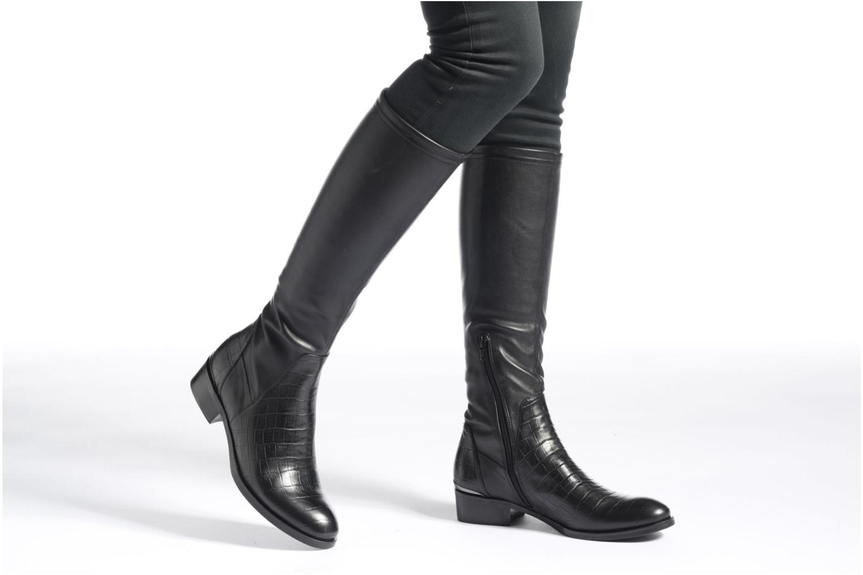 Bottines et boots JB MARTIN Australe Noir vue bas / vue portée sac
