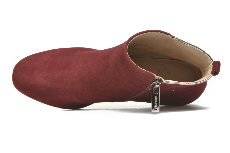 Bottines et boots JB MARTIN 1Rids Rouge vue gauche