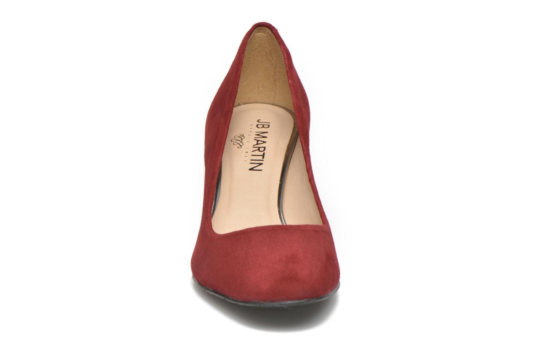 Escarpins JB MARTIN 1Rachele Rouge vue portées chaussures