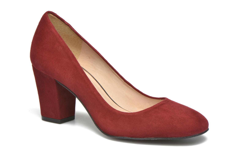 Zapatos de tacón JB MARTIN 1Rachele Rojo vista de detalle / par
