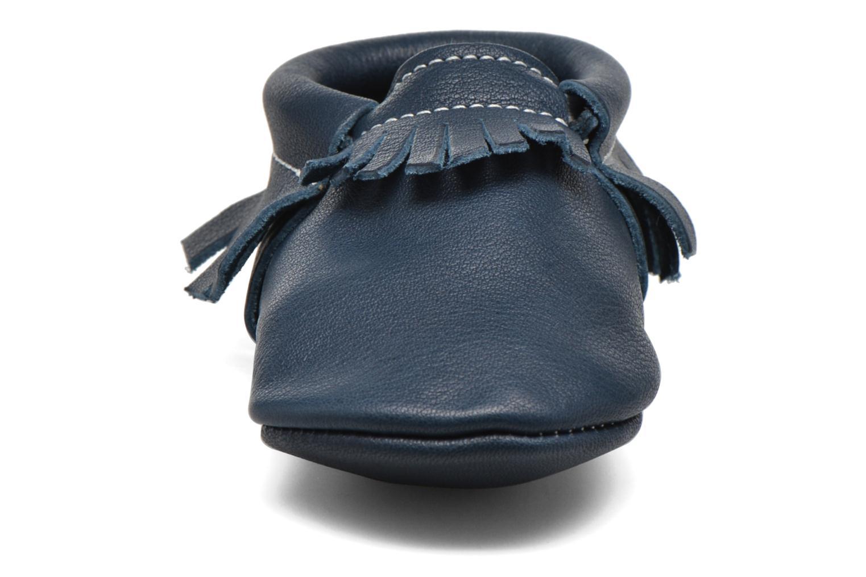Chaussons Hippie Ya Mocassins Bleu Minéral Bleu vue portées chaussures