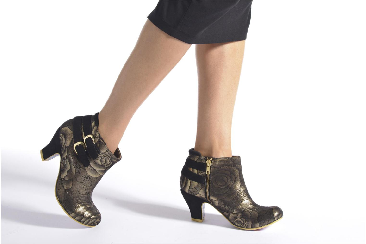 Bottines et boots Irregular Choice Think About It Or et bronze vue bas / vue portée sac