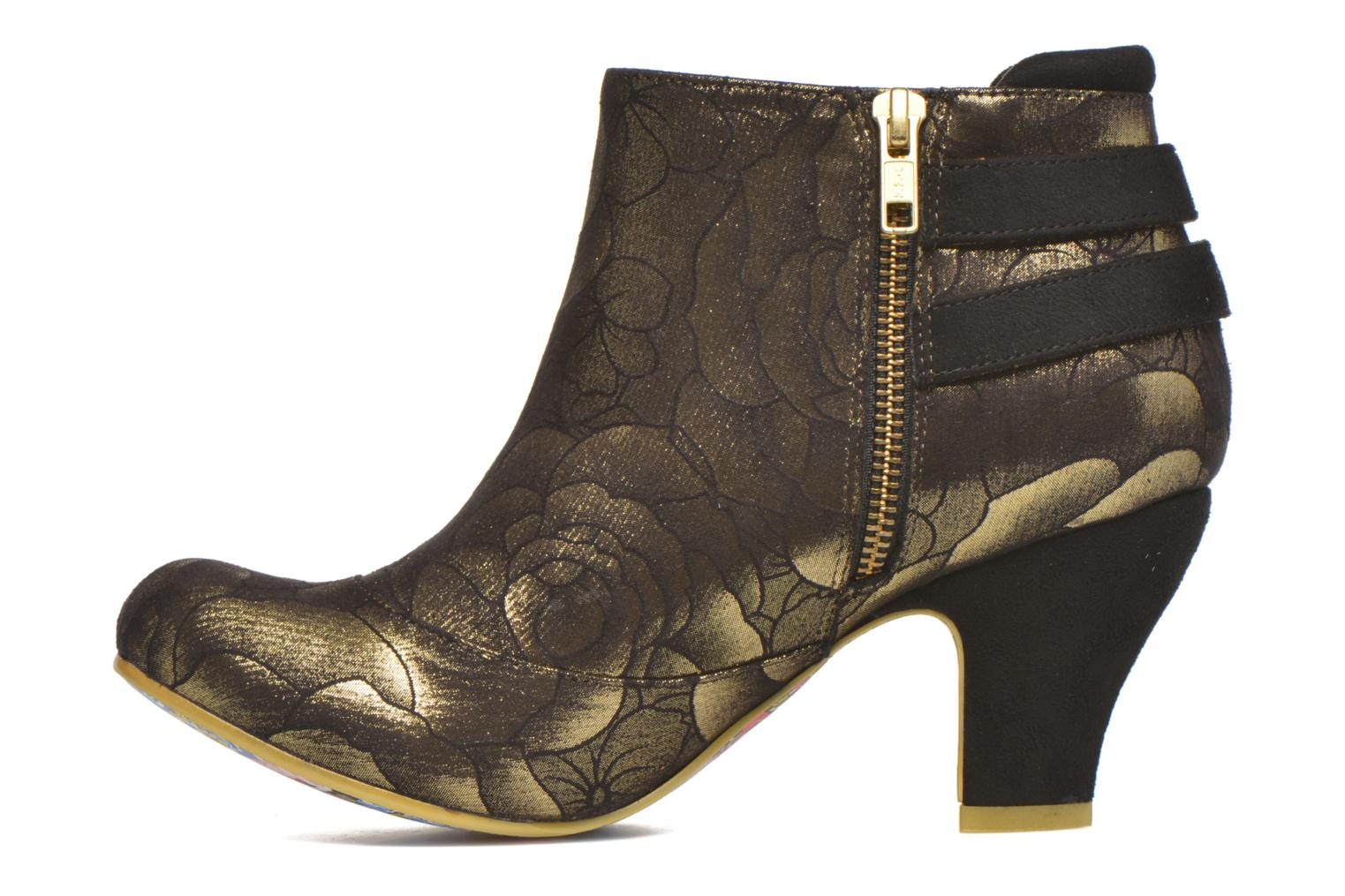 Bottines et boots Irregular Choice Think About It Or et bronze vue face