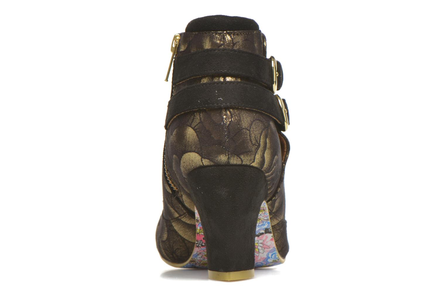 Bottines et boots Irregular Choice Think About It Or et bronze vue droite