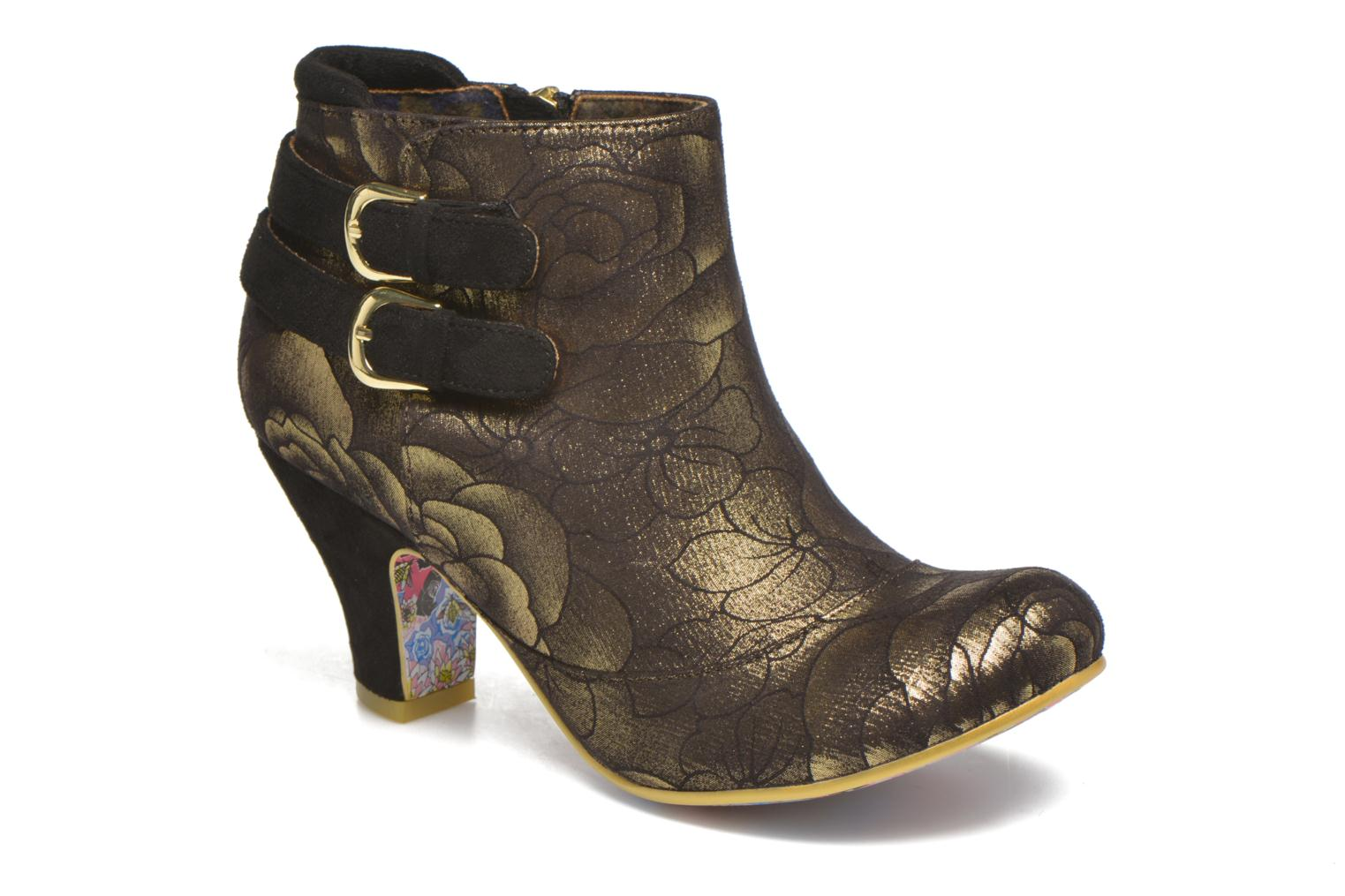 Bottines et boots Irregular Choice Think About It Or et bronze vue détail/paire