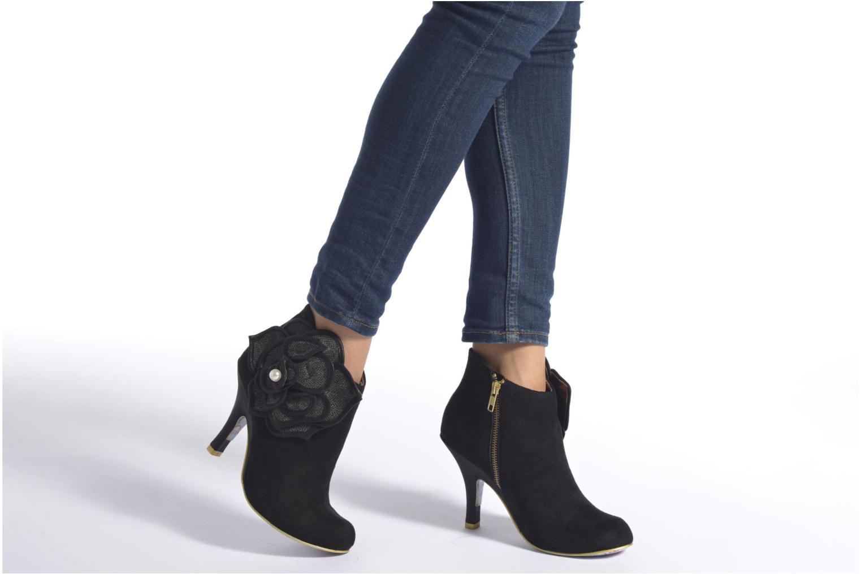Bottines et boots Irregular Choice Pearl Necture Noir vue bas / vue portée sac