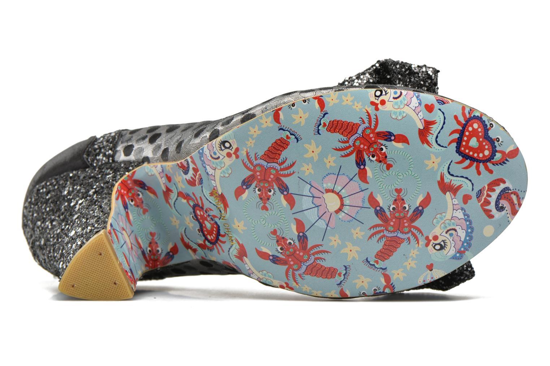 Zapatos de tacón Irregular choice Curtain Call Plateado vista de arriba