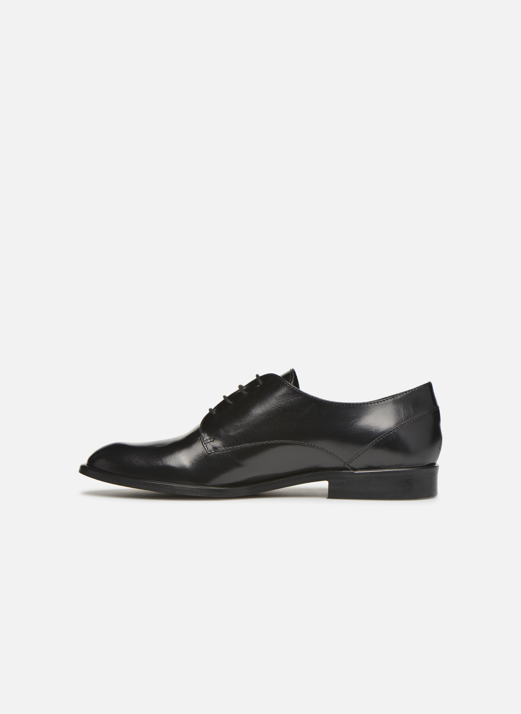 Lace-up shoes Jonak 2545 Black front view