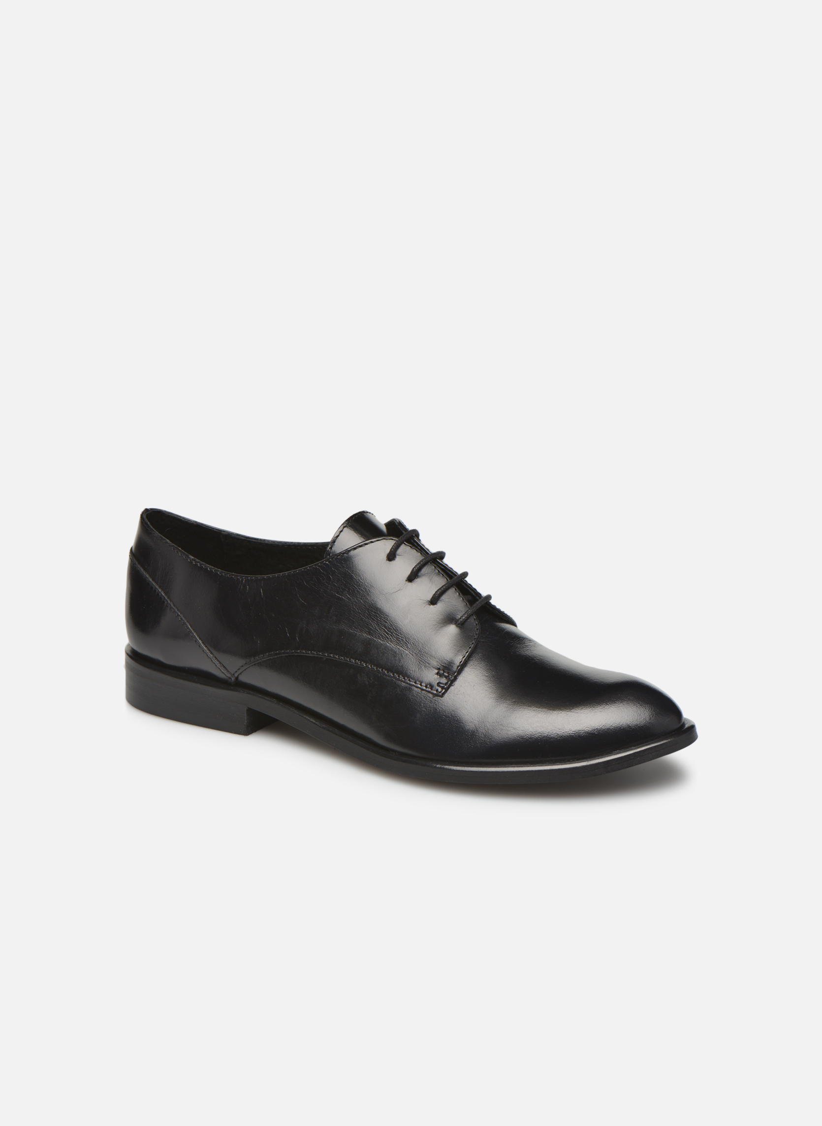 Lace-up shoes Jonak 2545 Black detailed view/ Pair view