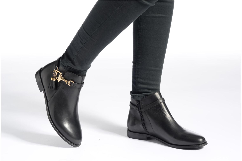 Bottines et boots Jonak Dotal Noir vue bas / vue portée sac