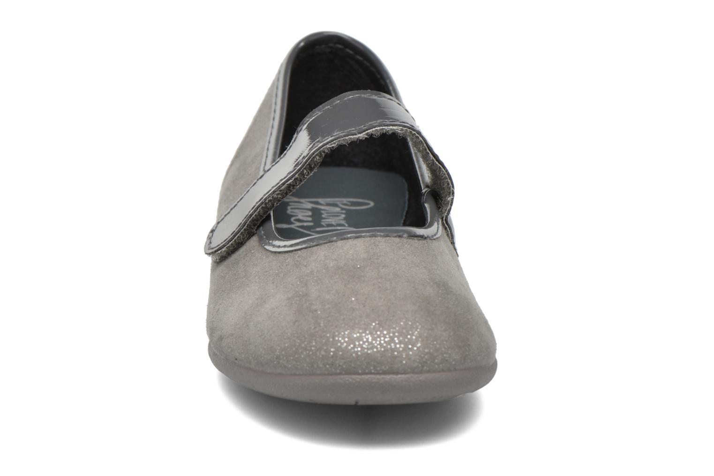 Ballerines I Love Shoes mantaisie Gris vue portées chaussures