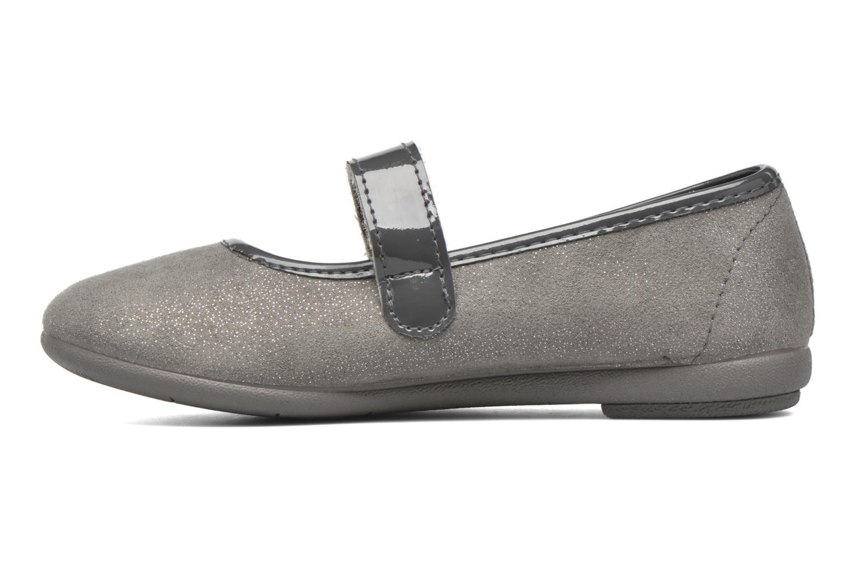 Ballerinas I Love Shoes mantaisie grau ansicht von vorne