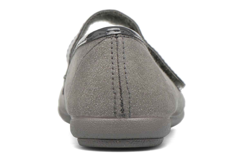 Ballerinas I Love Shoes mantaisie grau ansicht von rechts