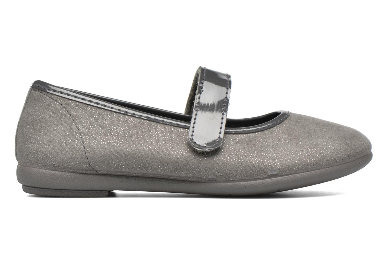 Ballet pumps I Love Shoes mantaisie Grey back view