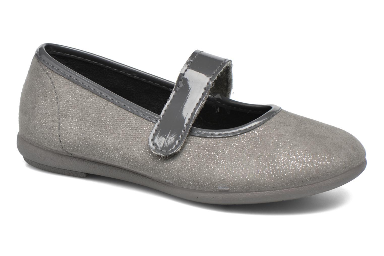 Ballerines I Love Shoes mantaisie Gris vue détail/paire