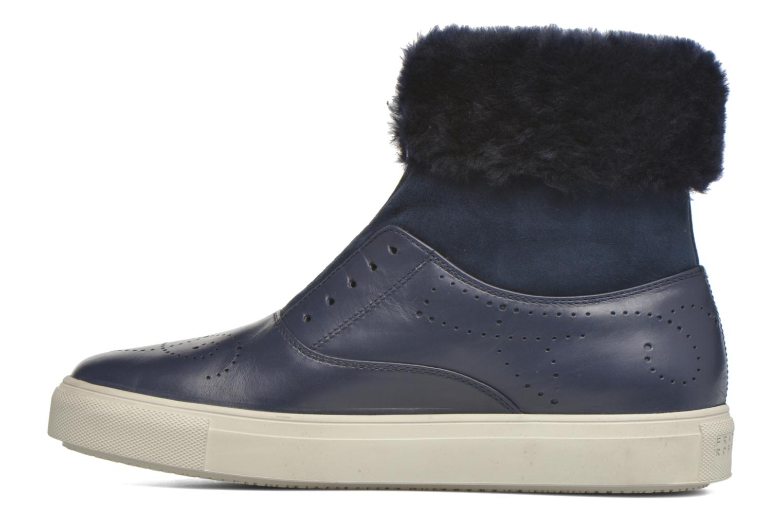 Bottines et boots Fratelli Rossetti Hobo fur avec fourrure Bleu vue face