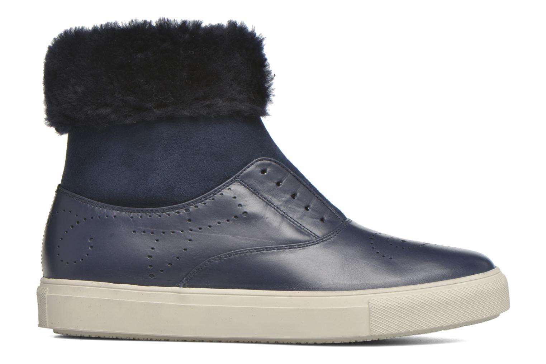 Bottines et boots Fratelli Rossetti Hobo fur avec fourrure Bleu vue derrière