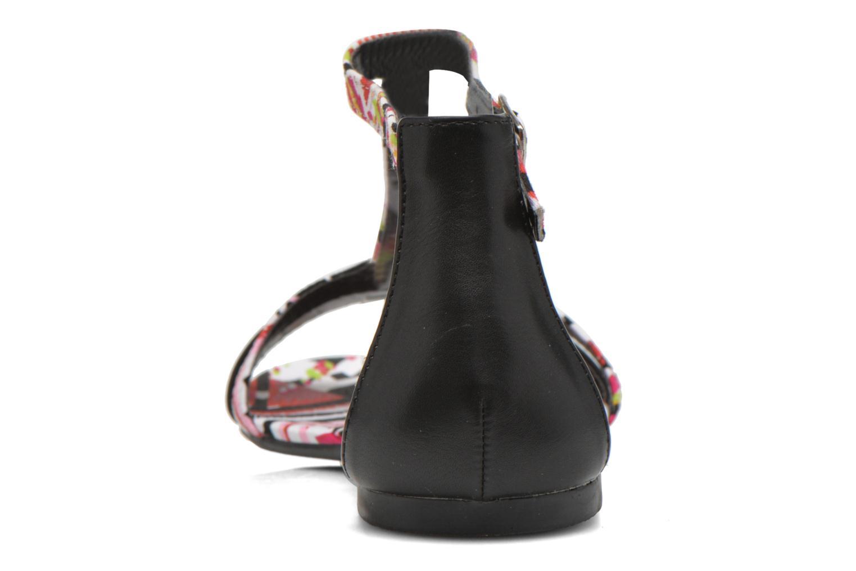 Sandales et nu-pieds Divine Factory Makiba Multicolore vue droite