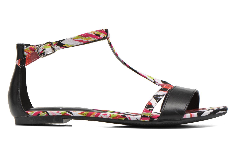 Sandales et nu-pieds Divine Factory Makiba Multicolore vue derrière