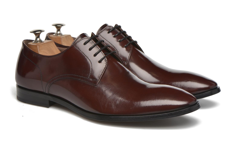 Chaussures à lacets Karl Lagerfeld Rafaelo Bordeaux vue 3/4