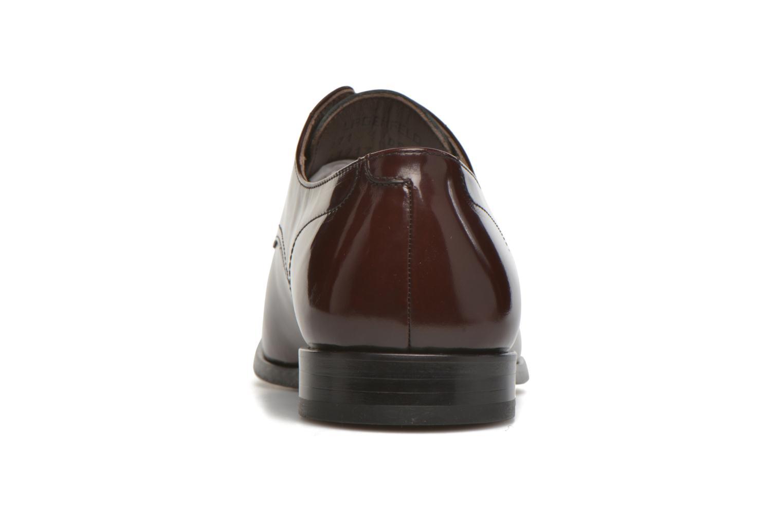 Chaussures à lacets Karl Lagerfeld Rafaelo Bordeaux vue droite