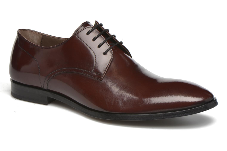 Chaussures à lacets Karl Lagerfeld Rafaelo Bordeaux vue détail/paire